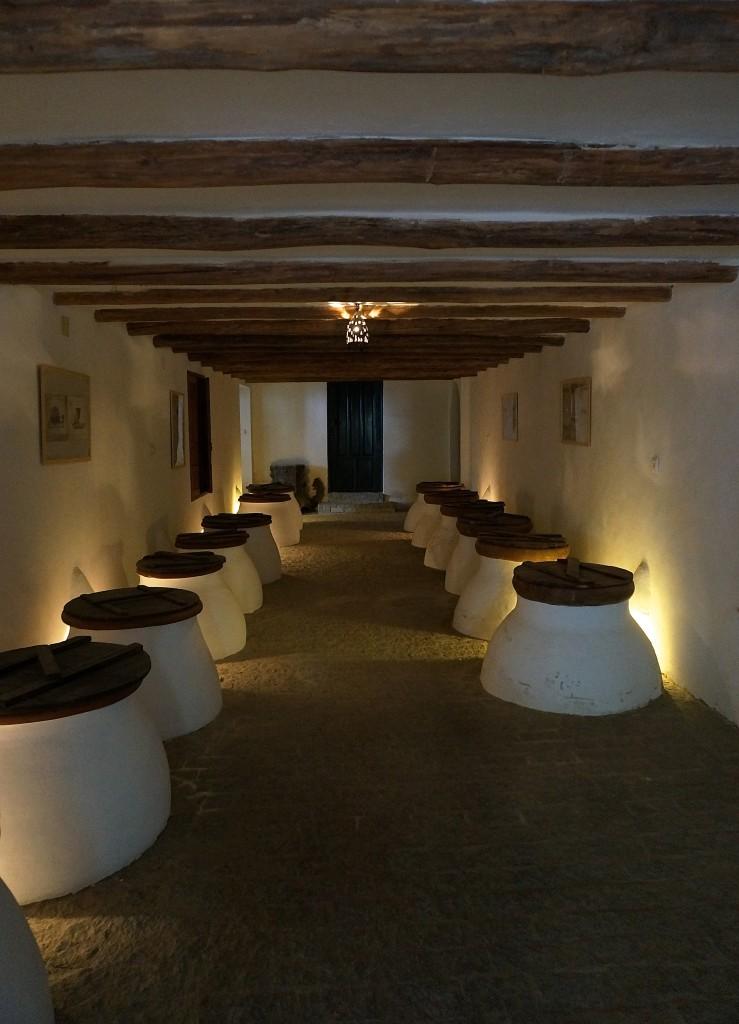 Cortijo Hoyabuela - olive oil vats