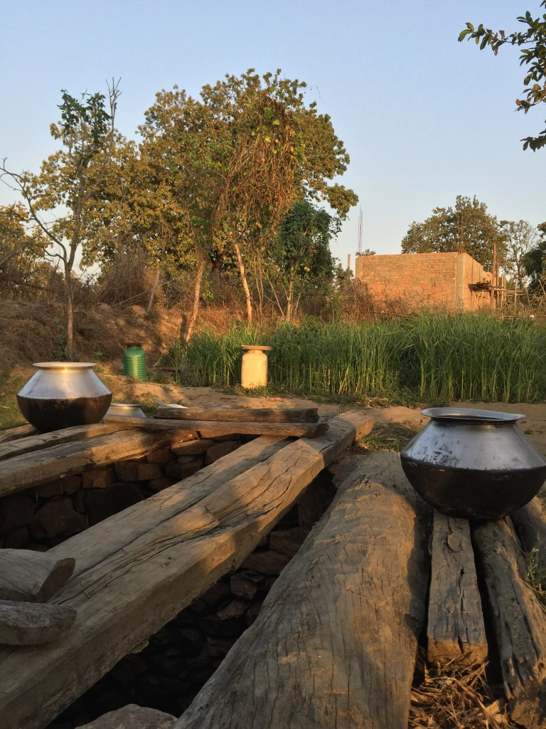 household well, a real luxury in village India