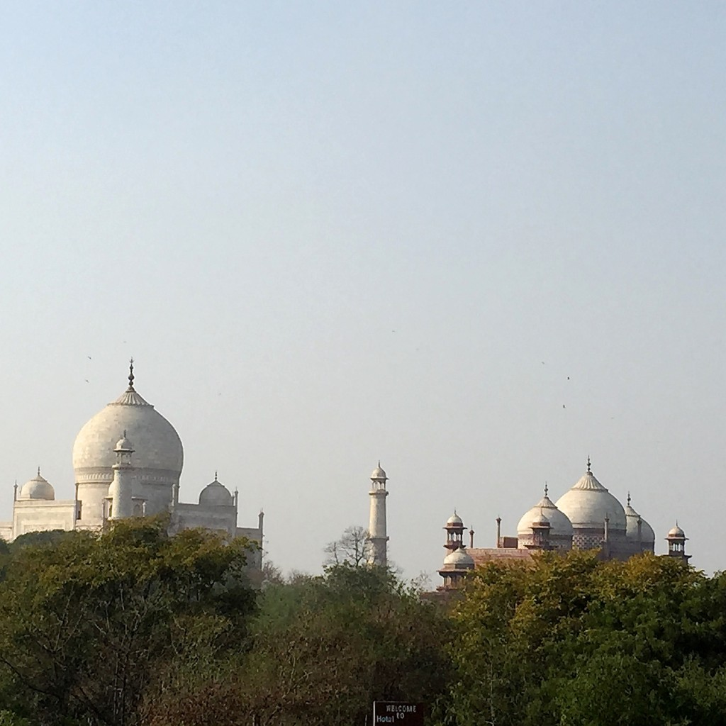 The Taj Mahal, floating above the chaos of the streets, is a perfect example of the ubiquitous contrast found throughout India