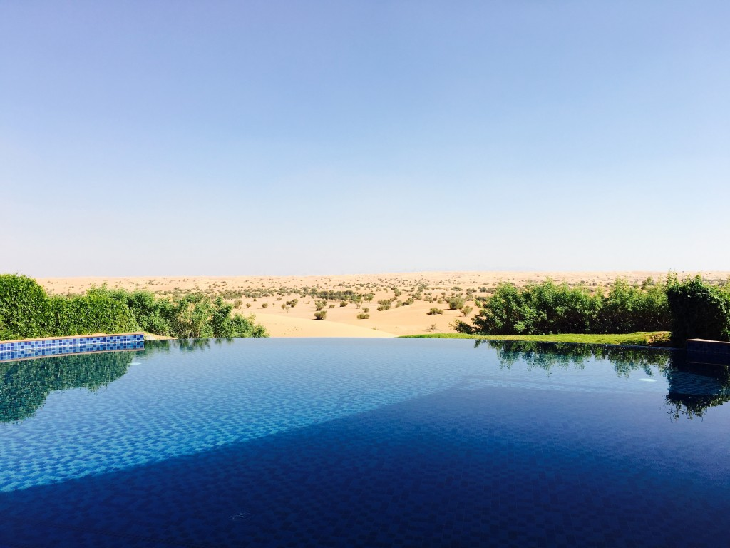View from Al Maha pool